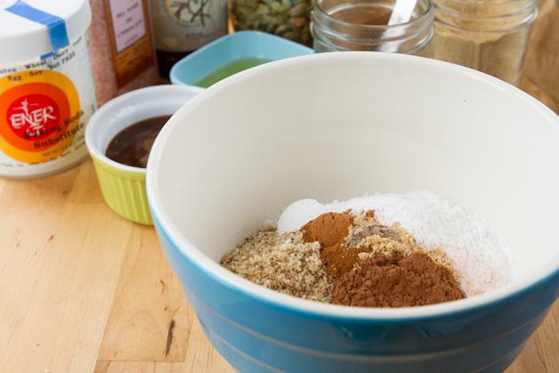 Carob Spice Cookies