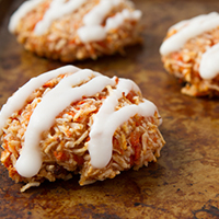 7-Ingredient Chewy Carrot Cake Cookies