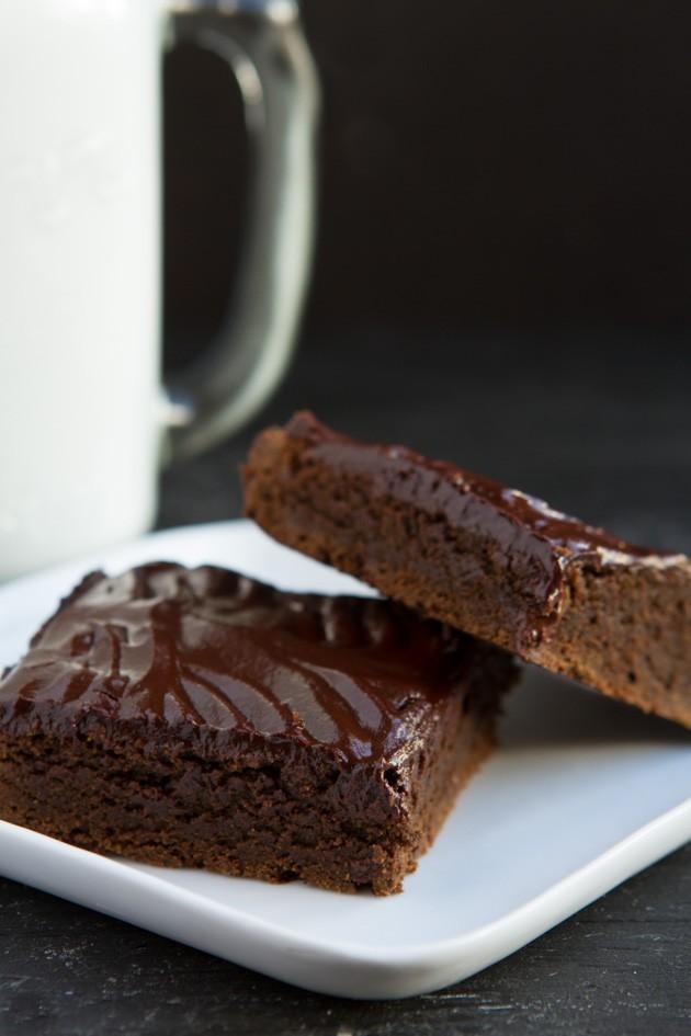 Cassava Blender Brownies #nutfree #dairyfree #paleo