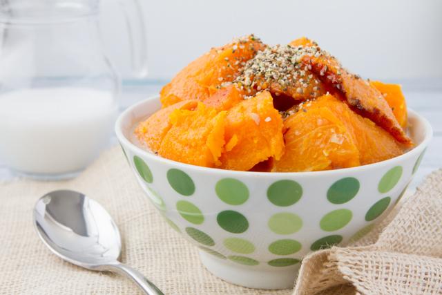 Masala Chai Squash Porridge #paleo #vegan #glutenfree