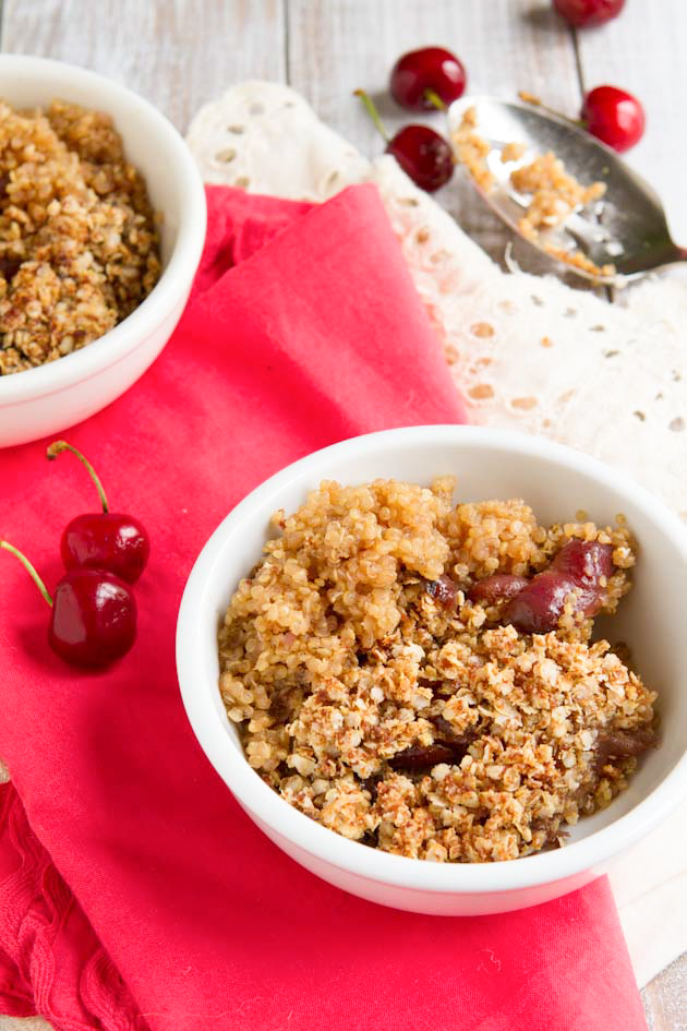 Cherry Pie Quinoa Breakfast Casserole (9)
