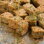 Make Grain-free Croutons with Chia Seed: Low-Carb, Keto Rosemary Chia Croutons Preview