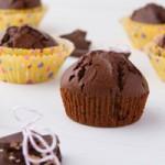 Chocolate Muffins (gluten-free + grain-free)