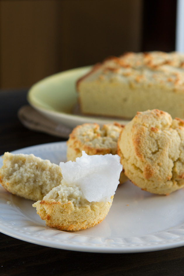 Low-Carb Coconut Flour Biscuits or Bread #grainfree #paleo #dairyfree #nutfree #lowcarb #keto