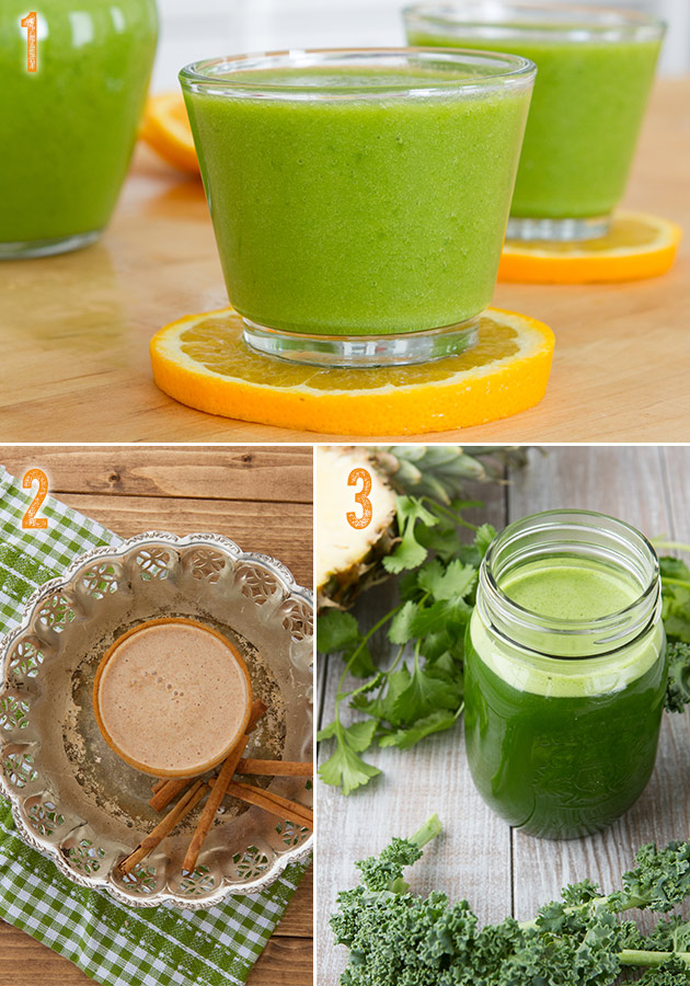 3 juice and smoothie recipes #cleanse #detox #smoothie