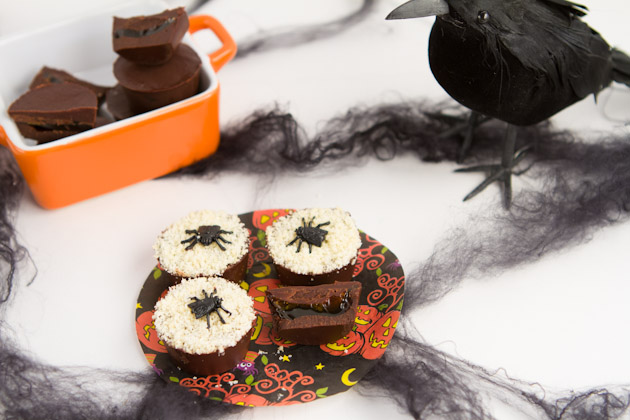 Healthy Halloween Recipes - Skor Bar Cups