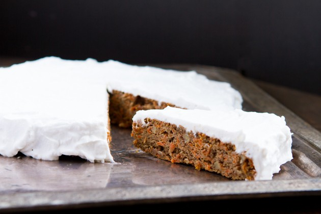 Classic Carrot Cake made with… cricket flour #grainfree #dairy-free #paleo