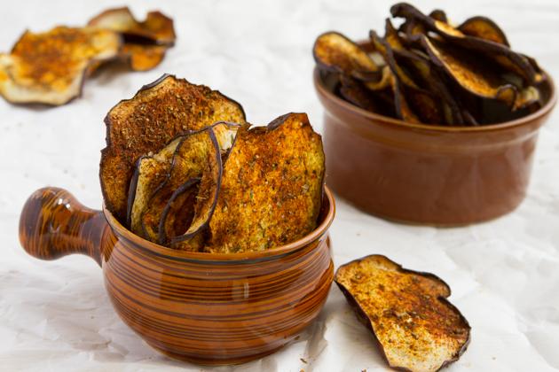 Crisp Eggplant Chips-1242
