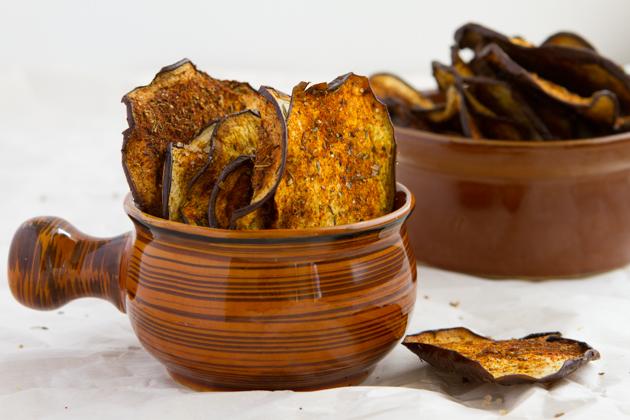 Crisp Eggplant Chips-1249