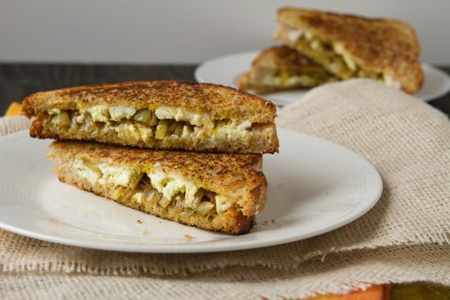 Curried Grilled Cheese