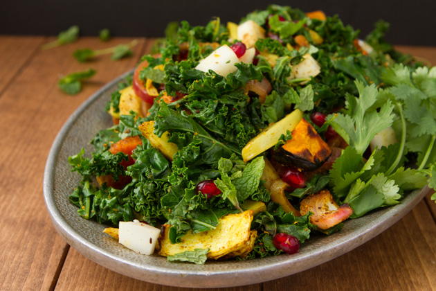 Curried Kale Salad-6366-2