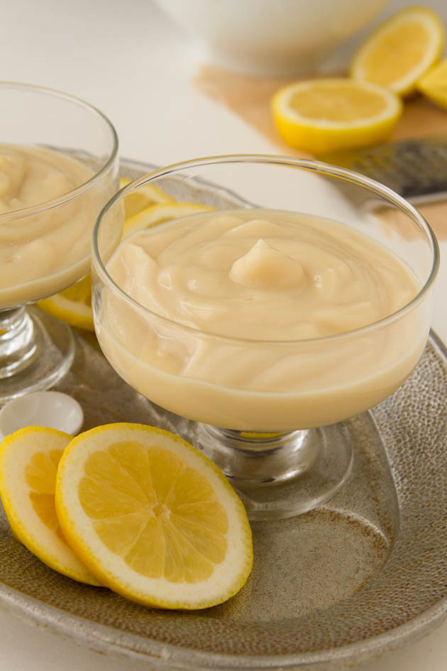 Dairy-free Lemon Pudding