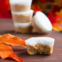 Keto Fat Bomb Pumpkin Pie Patties #paleo #lowcarb #keto #nutfree