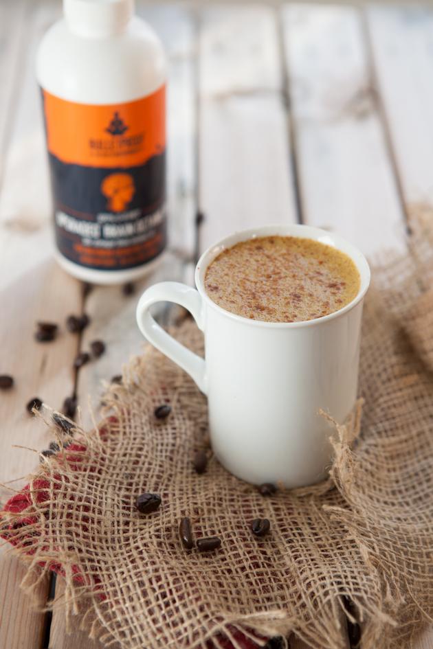 Dairy-free Pumpkin Spice Rocket Fuel Latte-3285