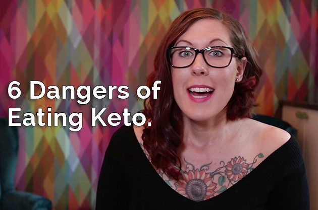 The 6 Dangers of Eating Keto #keto #lowcarb #lowcarbpaleo #hflc
