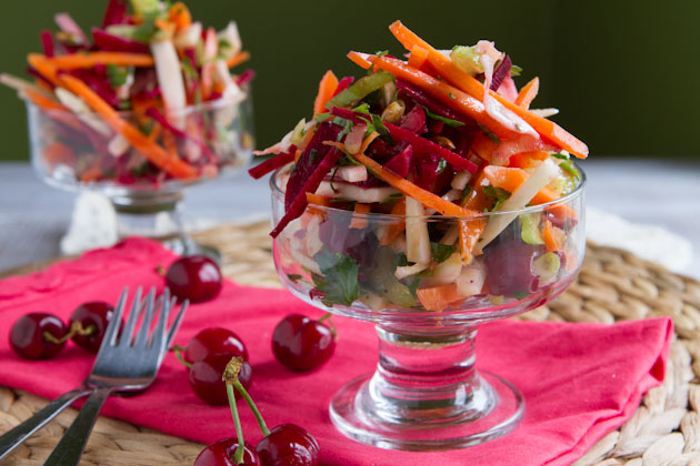 Deluxe Cherry and Fennel Salad (14)