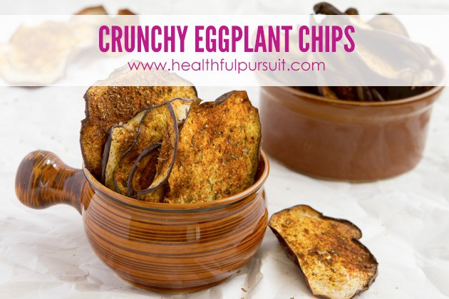 Eggplant Chips -- The Most Popular Recipes #grainfree #paleo #dairyfree