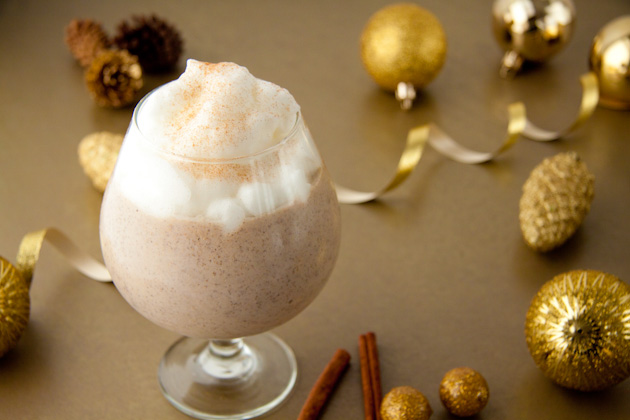 Eggnog Smoothie with 1 Minute Vanilla Whip (3)