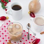 Vegan Eggnog Coffee Creamer + Light Dairy-free Eggnog
