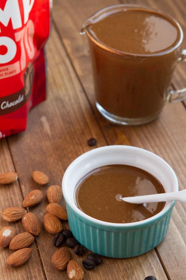 Espresso Fudge Protein Almond Butter #keto #protein #lchf