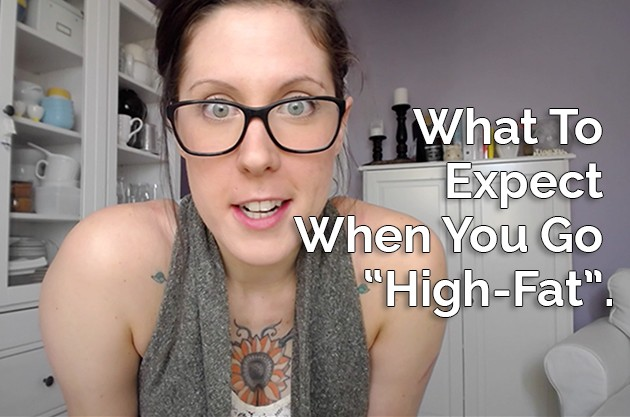 Video: What To Expect When You Go High-Fat #keto #lowcarb #paleo #primal #health #nutrition