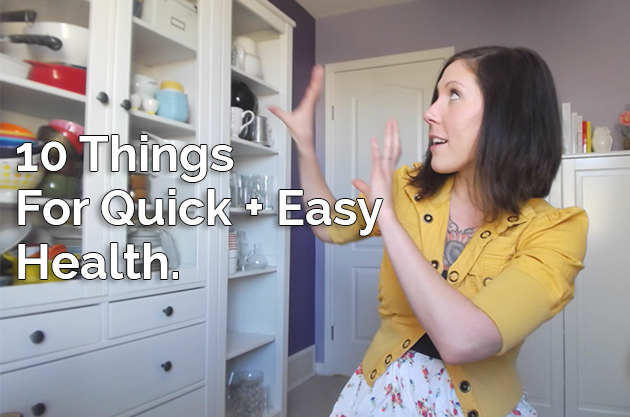 Video: The 10 Must-Have Things For Quick + Easy Health #keto #lowcarb #paleo
