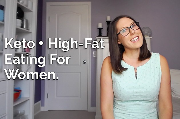 Video: Keto and High-Fat Eating For Women #highfat #lowcarb #keto