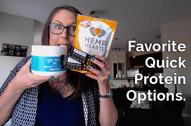 Favorite Quick Protein Options #collagen #hemp #primalkitchenfoods