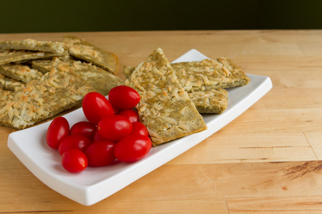 Cheezy Flat Bread from Healthful Pursuit