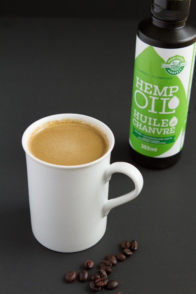 Hemp-Infused Rocket Fuel Latte #lowcarb #keto #bulletproofcoffee