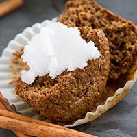 Flaxseed Cinnamon Bun Muffins #grain-free #paleo #lowcarb #keto