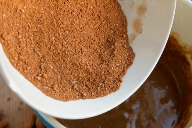 Flaxseed Espresso Fudge Muffins #lowcarb #keto #paleo #grainfree