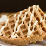 Flourless Crispy Flaxseed Waffles (grain-free, paleo, sugar-free, low-carb, keto + vegan) Preview