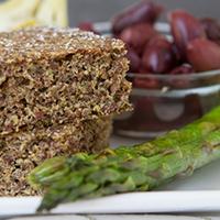 Flaxseed-Focaccia-Bread