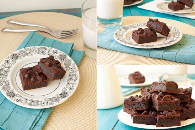Fudge-Tastic Brownies #vegan #glutenfree #grainfree #nutfree