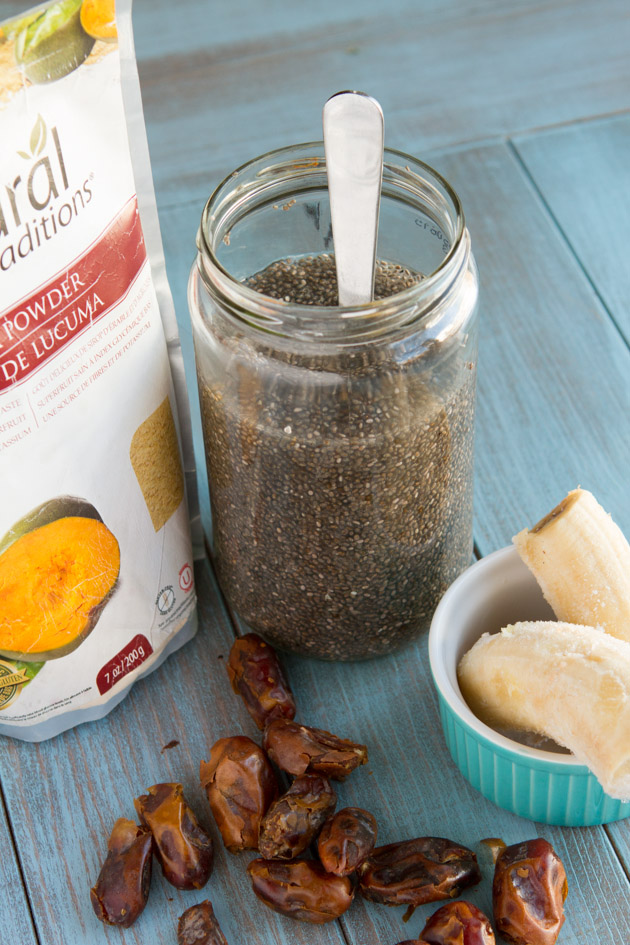 Get Glowing Superfoods Breakfast Pudding #vegan #paleo #breakfast