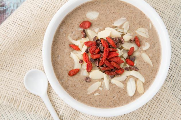 Get Glowing Superfoods Breakfast Pudding #vegan #paleo #breakfast