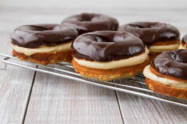 Boston Cream Donuts #glutenfree #paleo