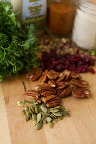 Grain-free Cranberry Pecan Pilaf