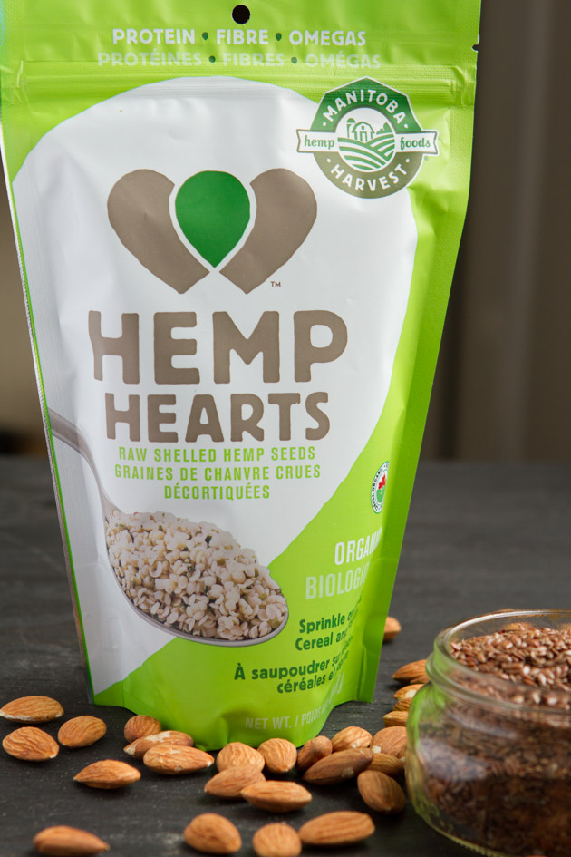 Grain-free Hemp Heart Porridge: Just Nuts + Seeds! #keto #lowcarb #paleo