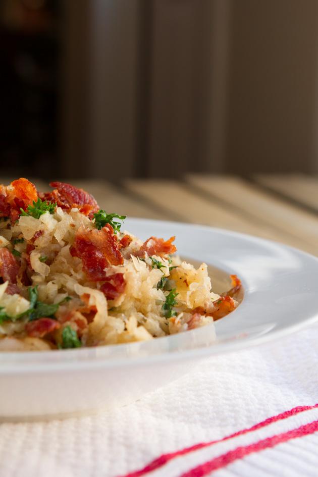 Grain-free Shrimp and Bacon Risotto-0022