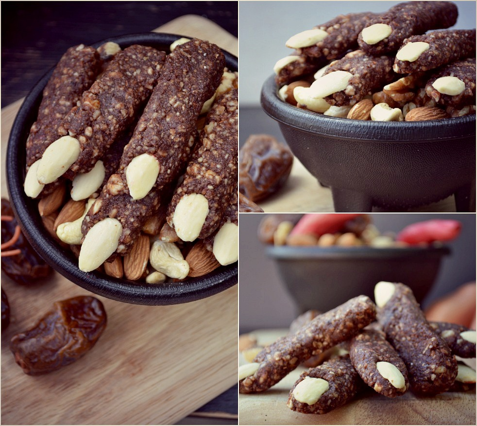 Healthy Halloween Recipes - Raw Witches Fingers
