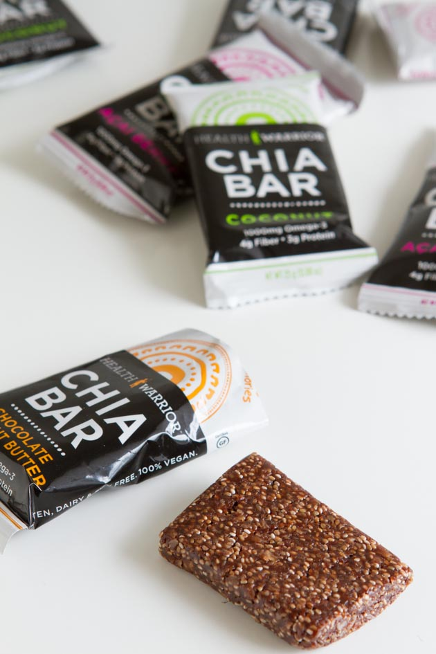 Enter for a Chance to Win 1 of 3 Health Warrior Chia Bar Gift Packs!