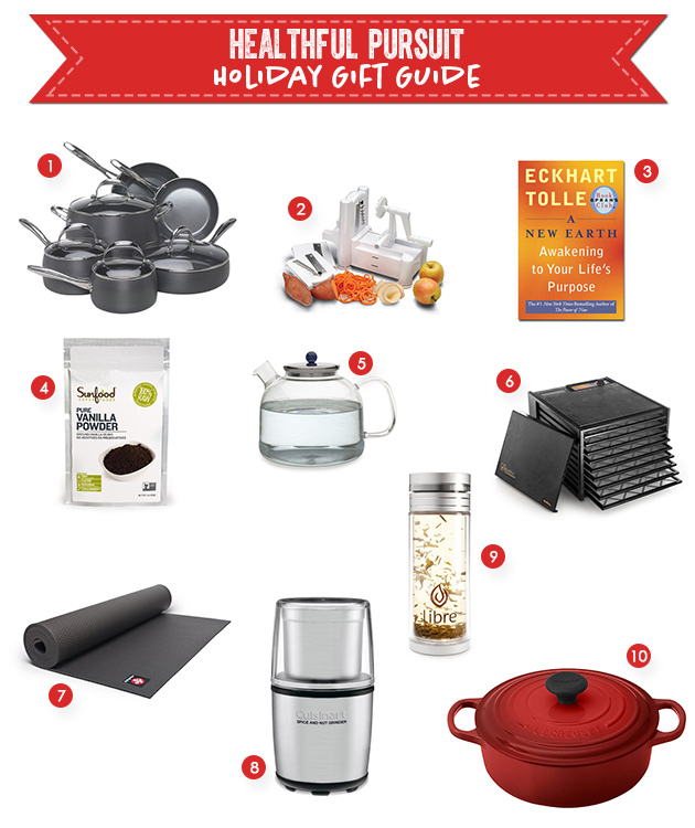 Healthful Pursuit Holiday Gift Guide