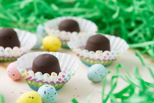 Healthier Easter Hazelnut Chocolate Truffles-8817
