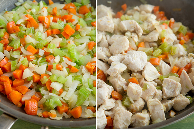 Healthy Chicken Pot Pie #glutenfree #paleo #dairyfree