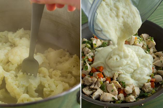 Healthy Chicken Pot Pie #glutenfree #paleo #dairyfree
