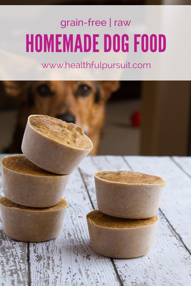 Make Your Own Healthy Dog Food #dogfood #homemadedogfood #rawdog