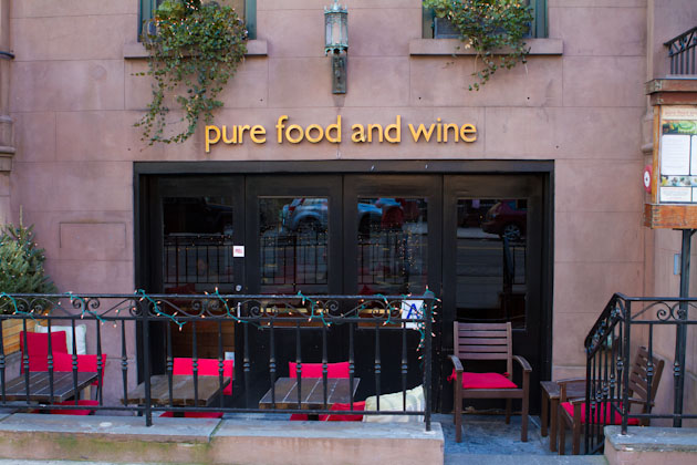 Raw vegan goodness: Pure Food and Wine