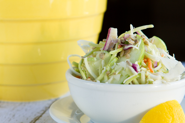 Lemon Pepper Coleslaw